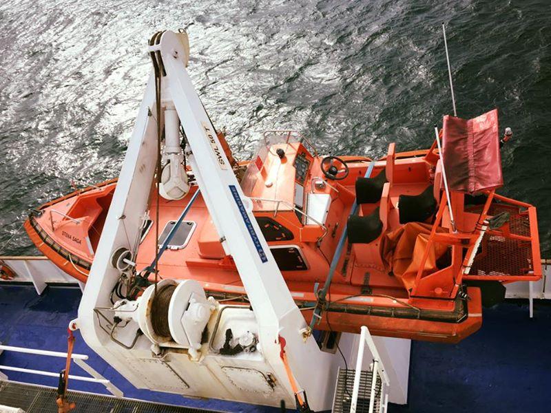 Fähre Rettungsboot